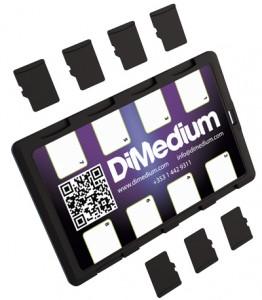 DiMeCard™ micro8™ microSD Card Holder For Mobile Network Operators