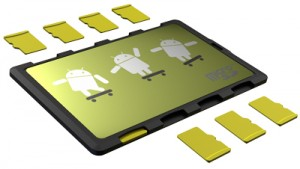 DiMeCard™ micro8™ microSD Card Holder For Mobile Handset OEM's