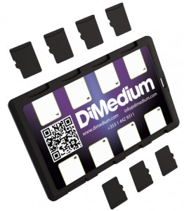DiMeCard™ micro8™ microSD Card Holder For Mobile Network Operators
